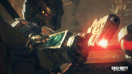 COD Black Ops laser pistol